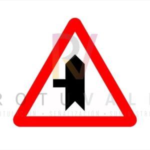 Señal Intersección Prioridad Izquierda P1b Rotuvall
