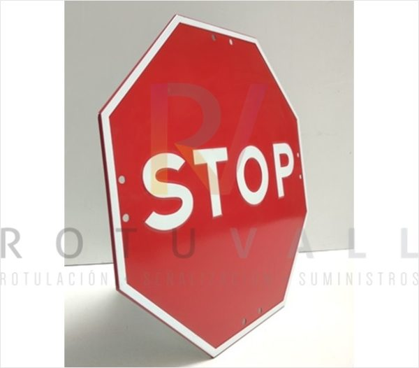 Señal Stop económica