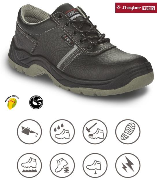 Características Zapato de trabajo j´hayber