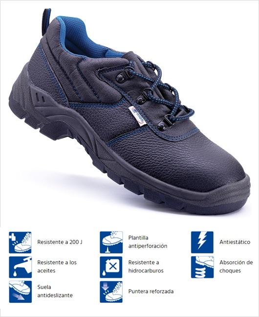 Caracteristicas zapato Uxama