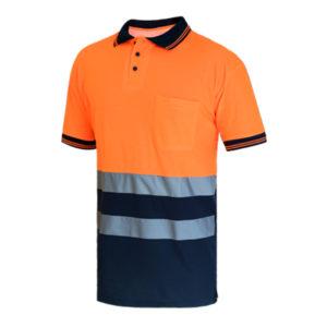 103WR312 316 Naranja Marino Rotuvall Polo Ropa Alta Visibilidad