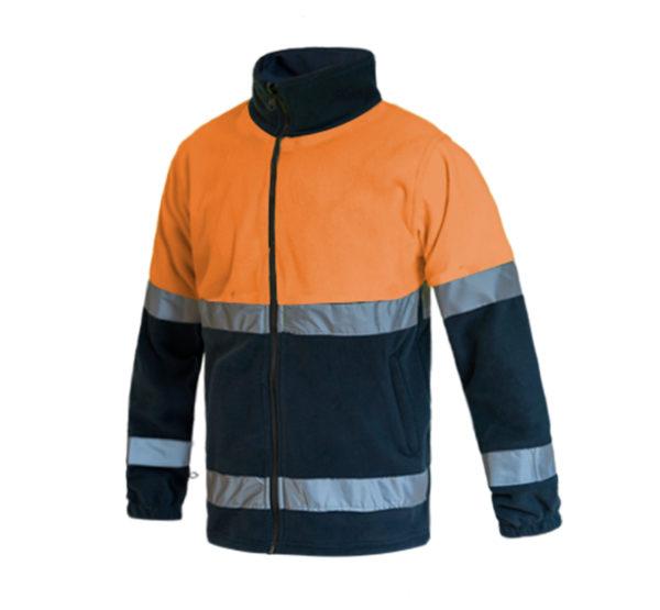 103WR816 Naranja Marino Rotuvall Forro Polar Ropa Alta Visibilidad