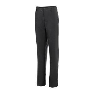 102303 Pantalón Mujer Negro Hostelería ROTUVALL