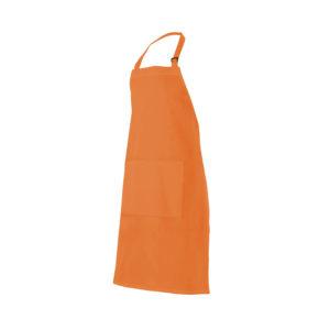 102404203 Delantal Peto Naranja Hostelería ROTUVALL