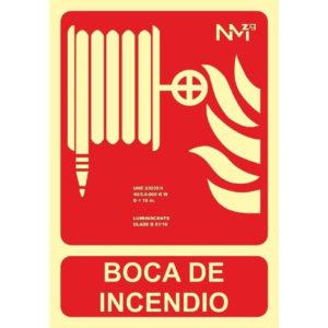 121RD00102 BOCA INCENDIOS Rotuvall Placas señalización