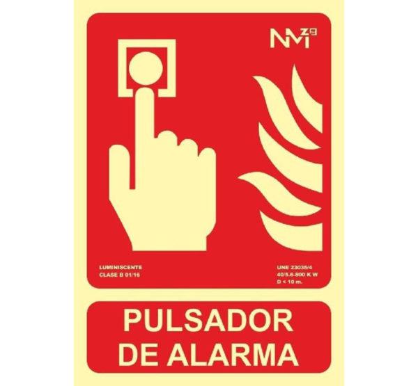 121RD00111 Pulsador Rotuvall Placas señalización