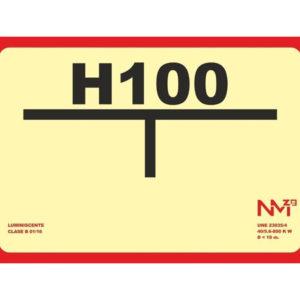 121RD00111 T Hidrante Rotuvall Placas señalización