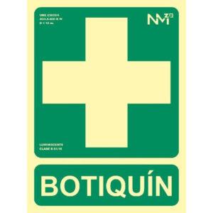 121RD14108 Botiquin Rotuvall Placas señalización