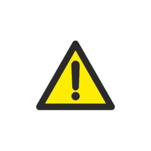 121RD38608 Riesgo indeterminado Rotuvall Placas señalización