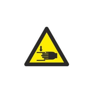 121RD64000 Riesgo atrapamientos Rotuvall Placas señalización