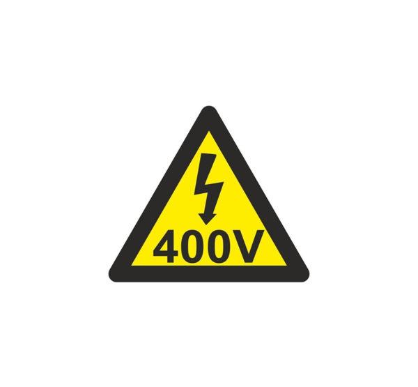 121RD64000 Riesgo eléctrico 400 V Rotuvall Placas señalización