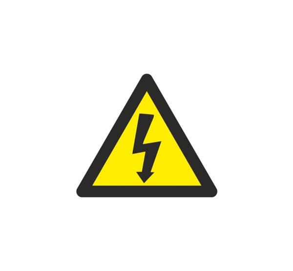 121RD64000 Riesgo eléctrico Rotuvall Placas señalización