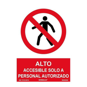 Alto accesible solo a personal autorizado
