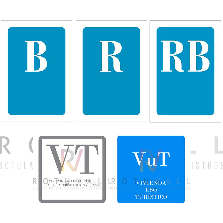 Placas de Alojamiento turístico y Hostelería web Rotuvall