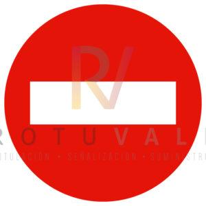 R-101 Señal Dirección Prohibida Rotuvall