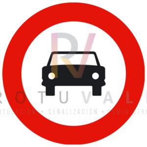 R-103-Señal-Entrada-prohibida-vehículos-de-motor-excepto-motociclos-Rotuvall