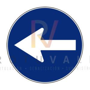 R-400b-Señal-de-Sentido-obligatorio-Rotuvall