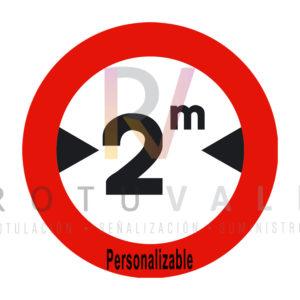 Señal-R-204-Limitación-de-anchura-personalizable-Rotuvall