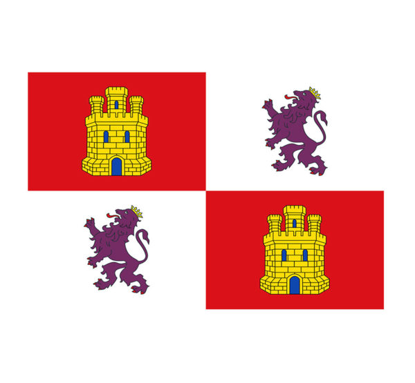 Bandera-Castilla-y-Leon-ROTUVALL