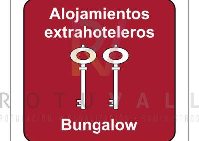 Placa-homologada-Alojamientos-Extrahoteleros-Bungalow-Cantabria-ROTUVALL