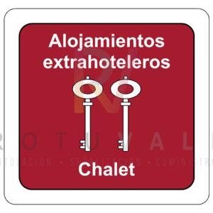 Placa-homologada-Alojamientos-Extrahoteleros-Chalet-Cantabria-ROTUVALL