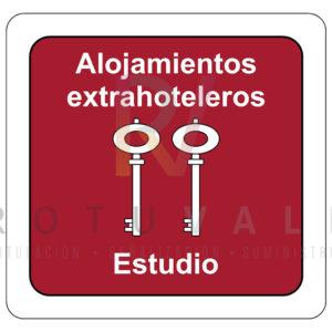 Placa-homologada-Alojamientos-Extrahoteleros-Estudio-Cantabria-ROTUVALL
