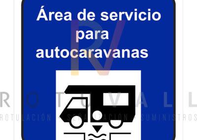 Placa-ÁREA-SERVICIO-AUTOCARAVANAS-Cantabria-ROTUVALL