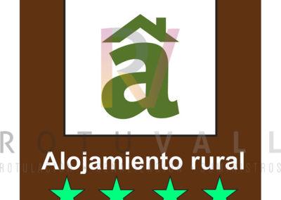Placa-ALOJAMIENTO-RURAL-Palacios-y-Casonas-ESTRELLAS-Cantabria-ROTUVALL