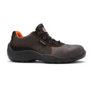 Zapato de seguridad piel de serraje Franklin S1 SRC