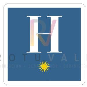 Placa-distintivo-Hotel-1-Castilla-Leon-ROTUVALL