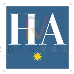 Placa-distintivo-Hotel-Apartamento-1-Castilla-Leon-ROTUVALL