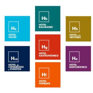 Placas-Distintivos-especialidades-Hoteles-Castilla-y-León