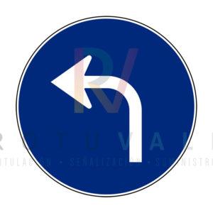 R-400e-Señal-de-Sentido-obligatorio-Rotuvall