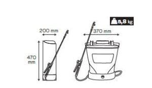 64VIPU16BB-medidas Pulverizador-16-litros-batería-proteccion-coronavirus-rotuvall