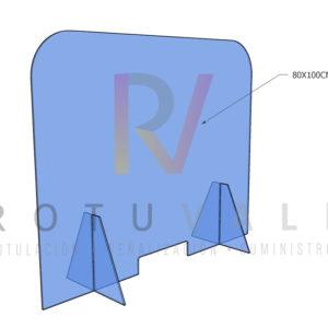 Mampara-proteccion-coronavirus-rotuvall-100x80-red