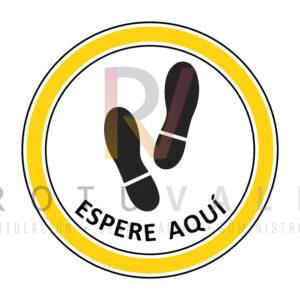 10HUELLASR-VINILO-SUELO-HUELLAS-REDONDO-30-CM