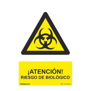 26RD30617-senal-peligro-atención-riesgo-biologico-PVC -