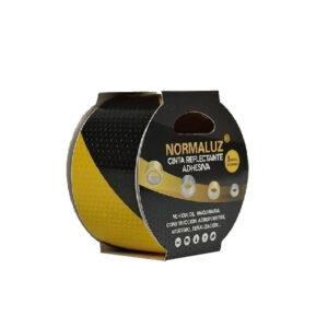 26RD80950-cinta-adhesiva-reflectante-amarilla-negra-50mmx5m