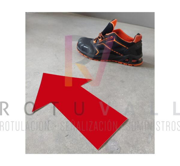 flechas-adhesivas-suelo-rojo-rotuvall