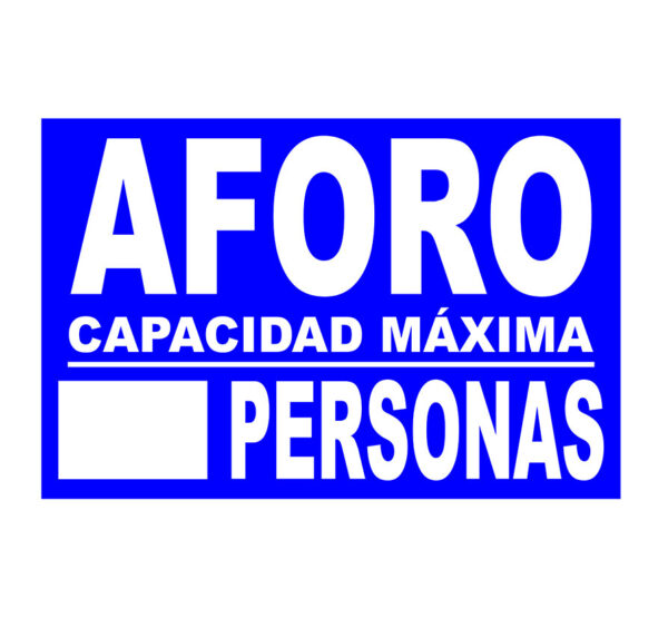 10AFORO-cartel-aforo-rotuvall