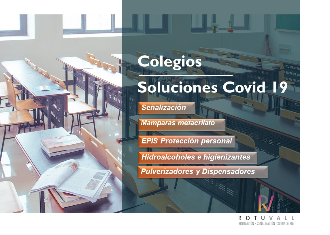 Catálogo colegios ROTUVALL