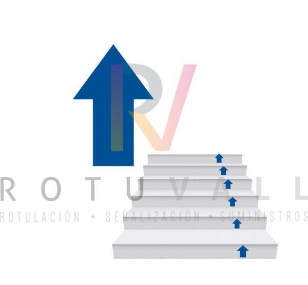 10FLECHAESC-Flecha-adhesiva-escaleras-130x100-mm-rotuvall