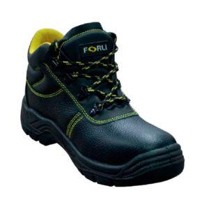 Bota de seguridad en piel de color negro modelo Chicago marca Forli
