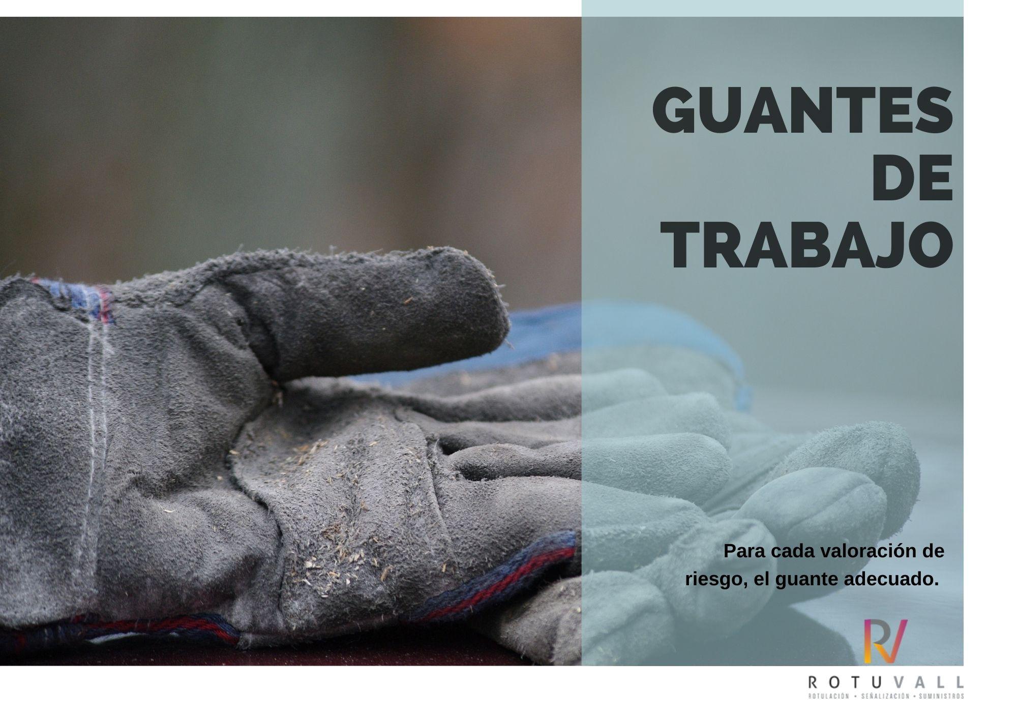 Catálogo guantes rotuvall