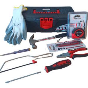 Caja de herramientas 9 piezas marca iTools