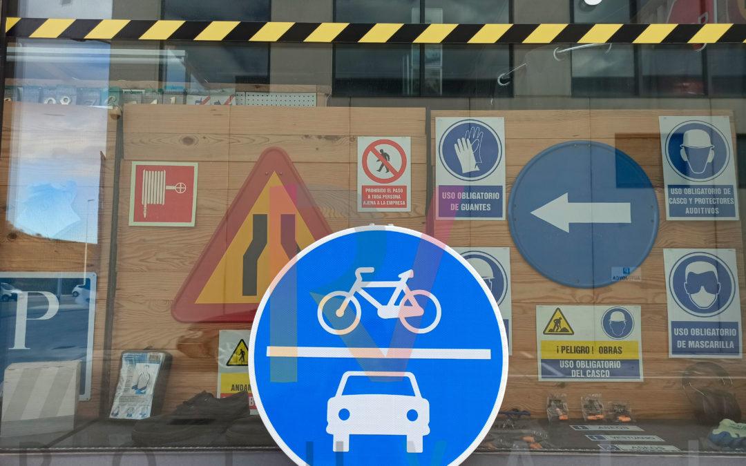 Carril compartido coche y bici, ¿la movilidad del futuro?