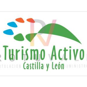 Placa homologada de turismo activo en Castilla y León