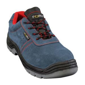 Zapato de seguridad Buffalo en piel de serraje marca Forli
