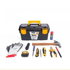 Caja de herramientas para hogar 11 piezas, marca Vito