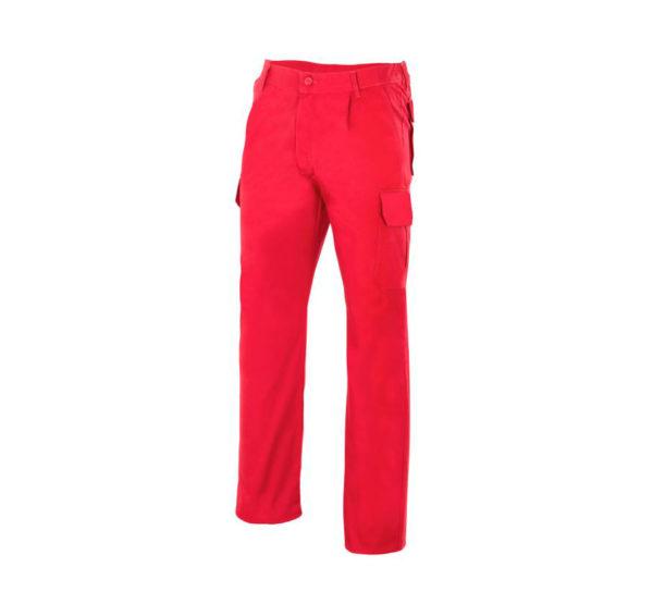 Pantalón de trabajo rojo marca Velilla